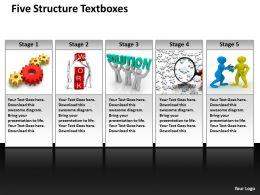 five_structure_textboxes_powerpoint_diagram_templates_graphics_712_Slide01
