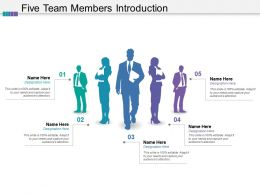 Five Team Members Introduction
