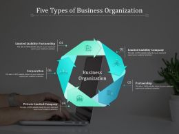 Five Types Of Business Organization