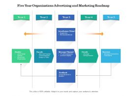 Five Year Organizations Advertising And Marketing Roadmap
