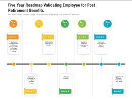 Five Year Roadmap Validating Employee For Post Retirement Benefits