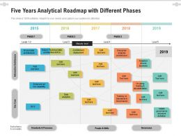 Five Years Analytical Roadmap With Different Phases