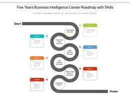 Five Years Business Intelligence Career Roadmap With Skills