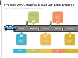 Five Years DMAIC Roadmap To Build Lean Sigma Enterprise