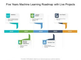 Five Years Machine Learning Roadmap With Live Projects