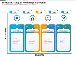 Five Years Roadmap For PMO Process Improvement