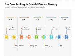 Five Years Roadmap To Financial Freedom Planning