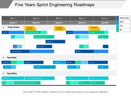 Five Years Sprint Engineering Roadmaps