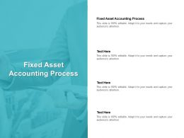 Fixed Asset Accounting Process Ppt Powerpoint Presentation Deck Cpb