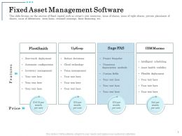 Fixed Asset Management Software Inventory Management Ppt Presentation Slides