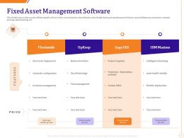 Fixed Asset Management Software Ppt Powerpoint Presentation Styles Topics