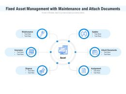 Fixed Asset Management With Maintenance And Attach Documents
