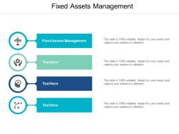 Fixed Assets Management Ppt Powerpoint Presentation Inspiration Topics Cpb