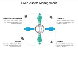 Fixed Assets Management Ppt Powerpoint Presentation Pictures Slides Cpb