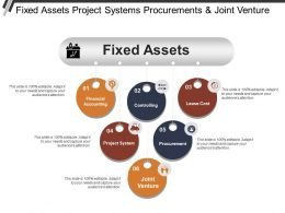Fixed Assets Project Systems Procurements And Joint Venture