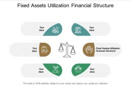 Fixed Assets Utilization Financial Structure Ppt Powerpoint Presentation Infographics Pictures Cpb