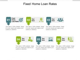 Fixed Home Loan Rates Ppt Powerpoint Presentation Slides Format Ideas Cpb