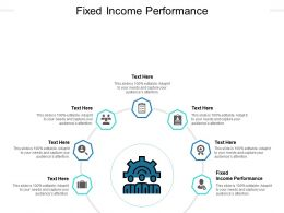 Fixed Income Performance Ppt Powerpoint Presentation Model Graphic Images Cpb