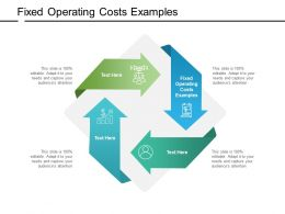 Fixed Operating Costs Examples Ppt Powerpoint Presentation Show Examples Cpb