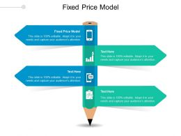 Fixed Price Model Ppt Powerpoint Presentation Infographic Template Gridlines Cpb