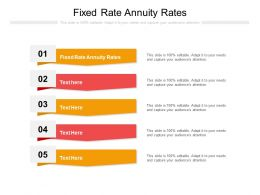Fixed Rate Annuity Rates Ppt Powerpoint Presentation Portfolio Design Inspiration Cpb