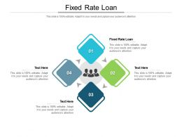 Fixed Rate Loan Ppt Powerpoint Presentation Show Cpb