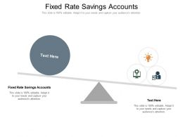 Fixed Rate Savings Accounts Ppt Powerpoint Presentation Portfolio Rules Cpb