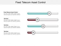 Fixed Telecom Asset Control Ppt Powerpoint Presentation Slides Outfit Cpb
