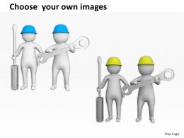 Fixing Business Issues With Screw Driver Ppt Graphics Icons Powerpoint