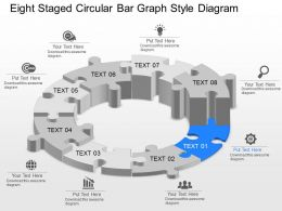 fj_eight_staged_circular_bar_graph_style_diagram_powerpoint_template_Slide01