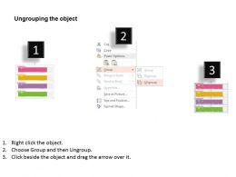 fj Four Staged Step Label Workflow Diagram Flat Powerpoint Design