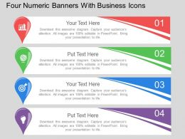 fk_four_numeric_banners_with_business_icons_flat_powerpoint_design_Slide01