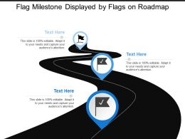 Flag Milestone Displayed By Flags On Roadmap