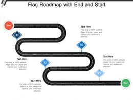Flag Roadmap With End And Start