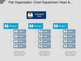 flat_organization_chart_department_head_and_managers_Slide01