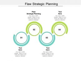 Flaw Strategic Planning Ppt Powerpoint Presentation Inspiration Master Slide Cpb