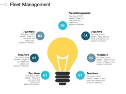 Fleet Management Ppt Powerpoint Presentation Gallery Infographic Template Cpb