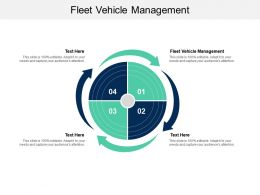 Fleet Vehicle Management Ppt Powerpoint Presentation Infographic Template Show Cpb