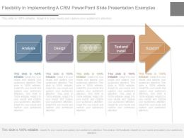 Flexibility In Implementing A Crm Powerpoint Slide Presentation Examples