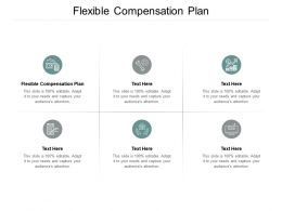 Flexible Compensation Plan Ppt Powerpoint Presentation Gallery Grid Cpb
