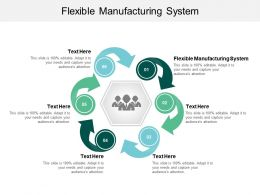 Flexible Manufacturing System Ppt Powerpoint Presentation Outline Infographic Template Cpb