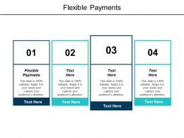 Flexible Payments Ppt Powerpoint Presentation Infographic Template Design Templates Cpb