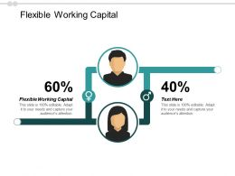 Flexible Working Capital Ppt Powerpoint Presentation Inspiration Show Cpb