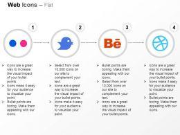 flickr_twitter_behance_dribble_ppt_icons_graphics_Slide01