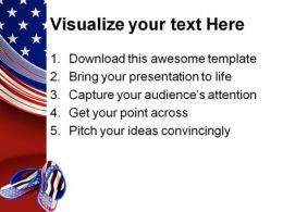 Flip Flop Americana PowerPoint Templates And PowerPoint Backgrounds 0111  Presentation Themes and Graphics Slide03