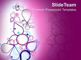 Floral Abstract Background Powerpoint Templates Ppt Themes And Graphics 0213