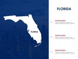 Florida Powerpoint Presentation PPT Template