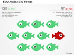 Flow Against The Stream Flat Powerpoint Design