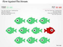 Flow Against The Stream Flat Powerpoint Design
