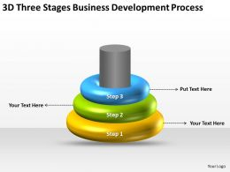 Flow Chart Business Development Process Powerpoint Templates PPT Backgrounds For Slides